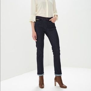 TORY BURCH Mid-Rise Laila Jeans